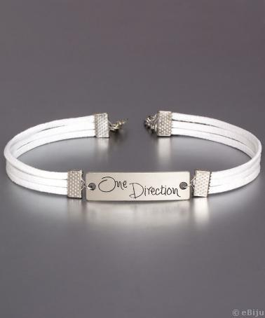 'One Direction' choker nyakék
